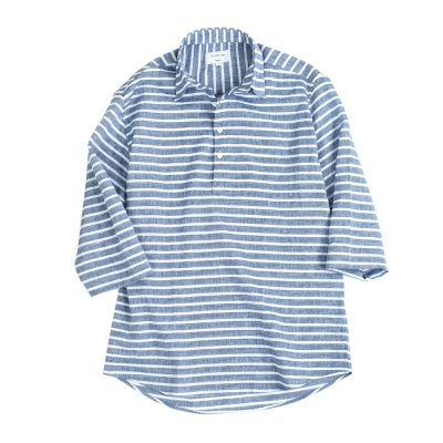 marine stripe 3/4 sleeve