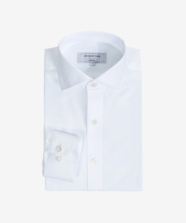 PREMIUM DRESS SHIRT (wide spread collar, 2 colors)