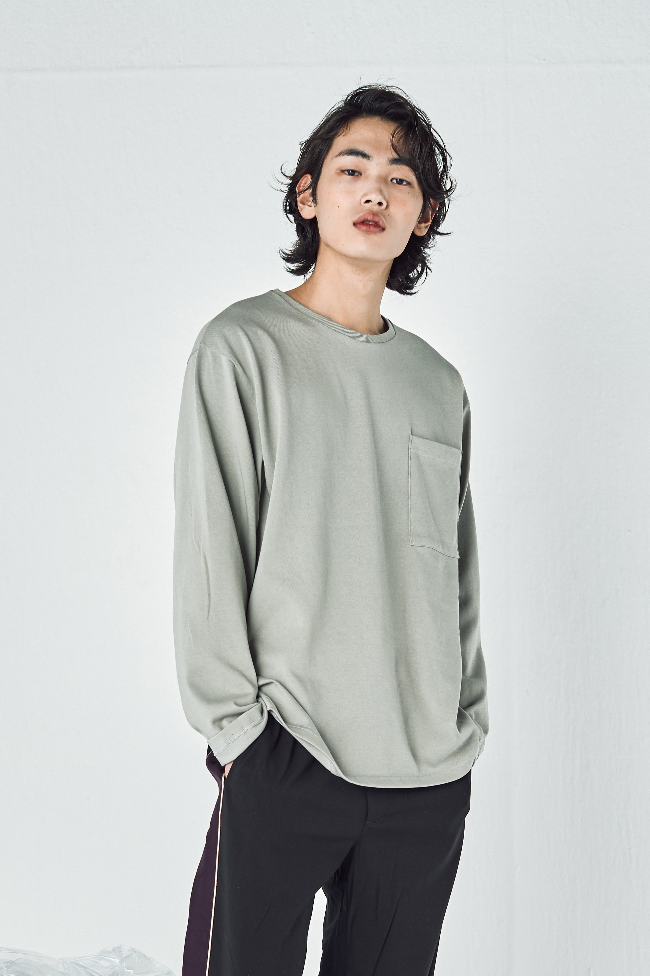 247 MINIMAL LONG SLEEVES (MOONROCK GREY)