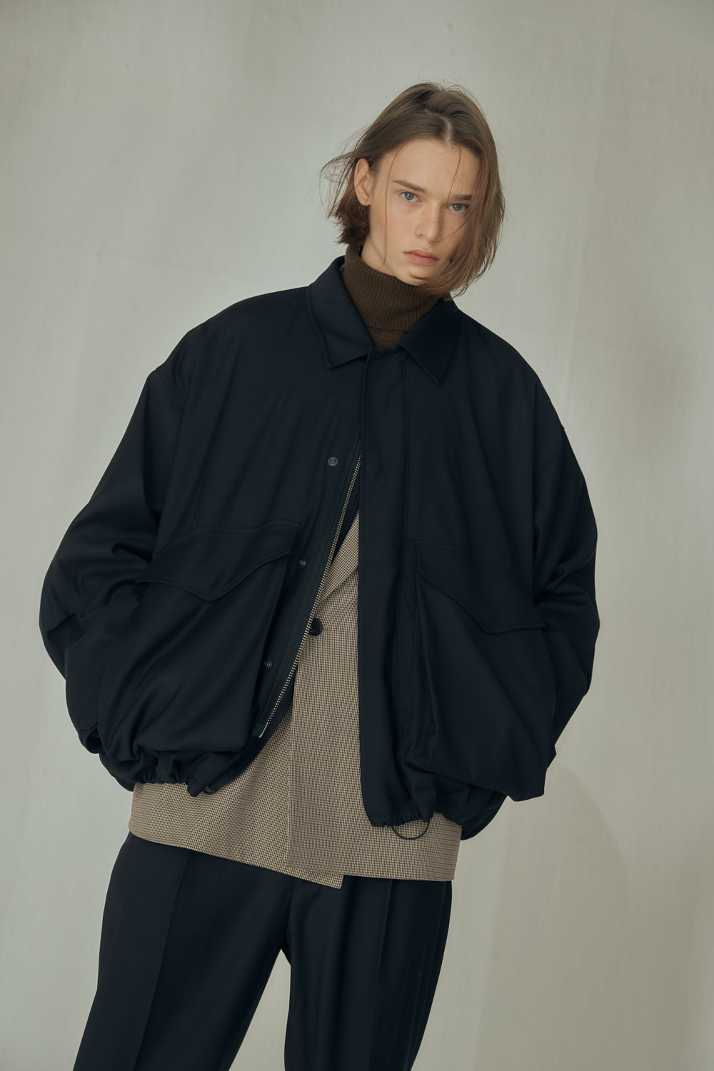 [M.H] FIELD BLOUSON (BLACK)