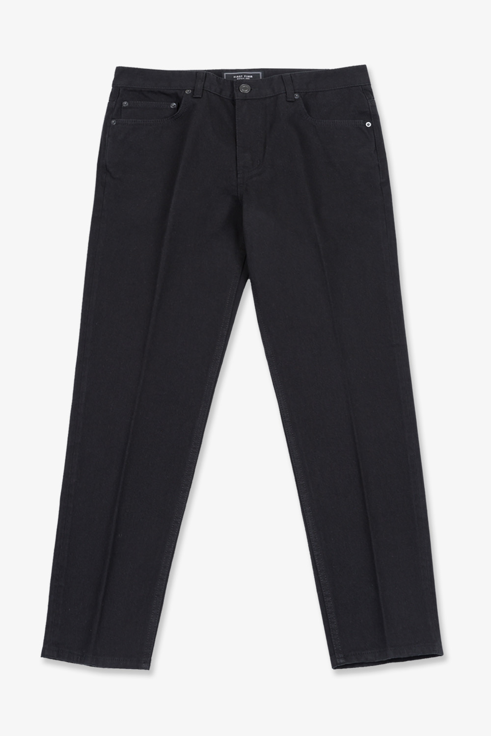 EASYGOING CROP PANTS (BLACK)