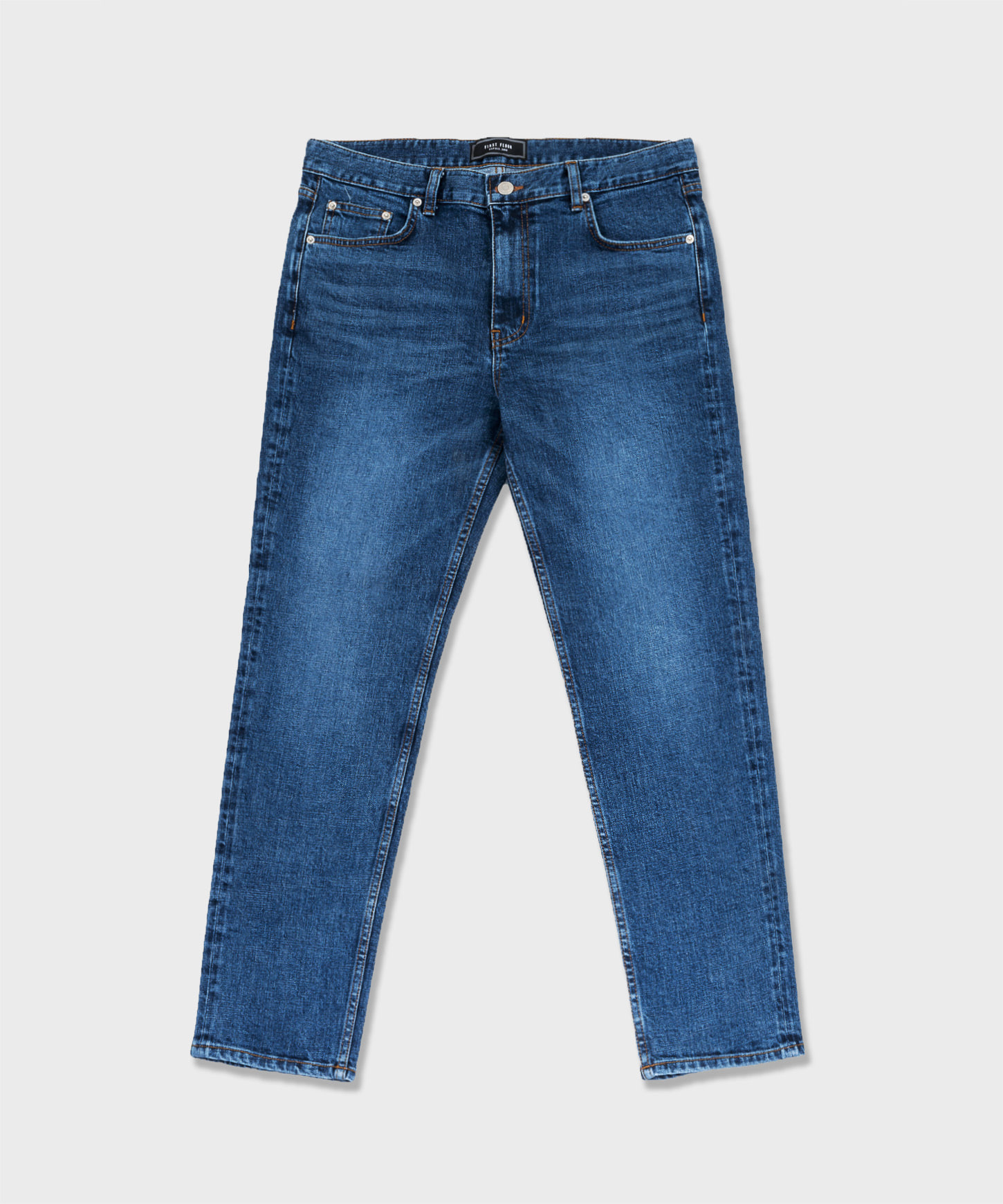 URBAN STANDARD(slim tapered, cropped, 딥 인디고)